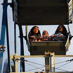 Not Laughing Trio on Ferris Wheel